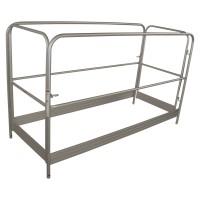 Metaltech Aluminum Guardrial Set, Model# I-CAISCGR