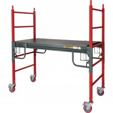 Metaltech BuildMan 6ft. Drywall Baker Scaffolding — 1,500-Lb. Capacity, Model# I-BMSS