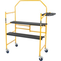 Metaltech Jobsite Series 4ft. Folding Scaffold — 500-Lb. Capacity, Model# I-IMCNT