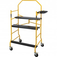 Metaltech Jobsite Series Complete 5ft. Folding Scaffold — 900-Lb. Capacity, Model# I-IMIS