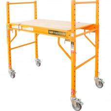 Metaltech Multipurpose 4ft. Baker-Style Scaffold — 500-Lb. Capacity, Steel, Model# I-SM4B
