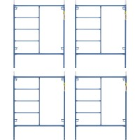 Metaltech Saferstack 6.4ft. x 5ft. Mason Frame Kit — 4-Pack, Model# M-MF7660PSK4