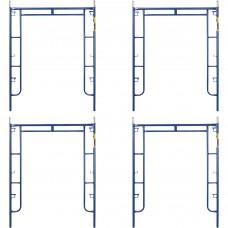 Metaltech Saferstack 6ft. x 5ft. Arch Frame — 4-Pk., Model# M-MA7660PSK4