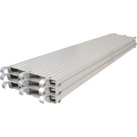 Metaltech Saferstack 7ft. x 19in. All-Aluminum Platform — 3-Pack, Model# M-MPA719K3