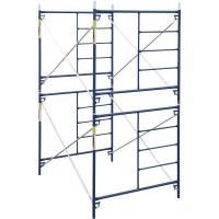 Metaltech Safertstack Double Lift Scaffold — Set of 2, 5ft. x 10ft. x 10ft., Model# M-MFC51010