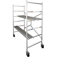 Metaltech Utility Aluminum Scaffold — 6ft., 700-Lb. Capacity, Model# I-CAIRC