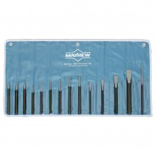Wright Tool 9663 14 Piece Mechanics Punch And Chisel Kit