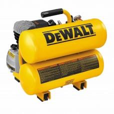 DeWalt D55153 1.1 HP Continuous 4 Gallon Electric Hand Carry Compressor