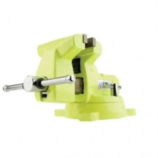 """Wilton 63187 1550 High-Visibility Safety Vise, 5"""" Jaw Width, 5-1/4"""" Jaw Opening"""