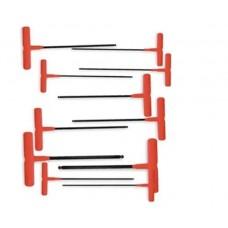Eklind 60811 Ball End T-Handle Allen Wrench Set
