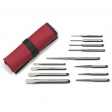 GearWrench 82305 12 Piece Alloy Steel Punch and Chisel Set
