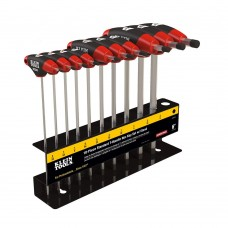 """Klein JTH610E T-Handle Set with Stand, SAE, 6"""" Blade 10 Pc"""
