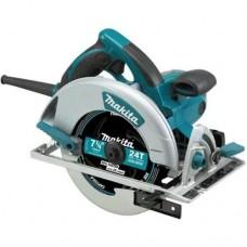"Makita 5007MGA 7-1/4"" Magnesium Circular Saw, 15 AMP, L.E.D. Light, electric brake, case"