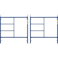 Metaltech Saferstack 5ft. x 5ft. Mason Frame — 2-Pack, Model# M-MF6060APSK2