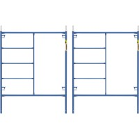 Metaltech Saferstack 6.4ft. x 5ft. Mason Frame — 2-Pack, M-MF7660PSK2