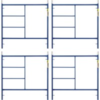 Metaltech Saferstack 5ft. x 5ft. Mason Frame — 4-Pack, Model# M-MF6060APSK4