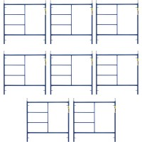 Metaltech Saferstack 5ft. x 5ft. Mason Frame — 8-Pack, Model# M-MF6060APSK8