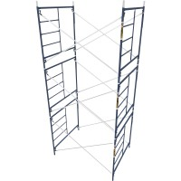 Metaltech Saferstack 5ft. x 5ft. x 7ft. Mason Frame — Set of 3, Model# M-MFS606084K3
