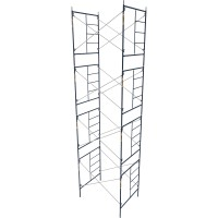 Metaltech Saferstack 6.4ft. x 5ft. x 7ft. Mason Frame — Set of 4, Model# M-MFS766084K4