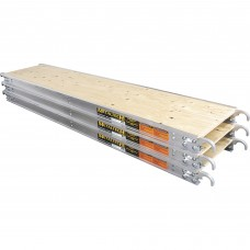Metaltech 10ft. x 19in. Aluminum Platform with Edge Capping, Model# M-MPP1019RE