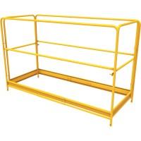 Metaltech Guardrail Set for Multipurpose 6ft. Baker-Style Scaffolding — Model# I-CISGRJP