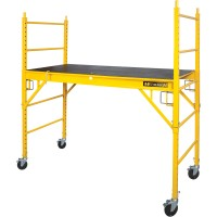 Metaltech Jobsite Series 6ft. Rolling Perry-Style Scaffold — 1,250-Lb. Capacity, Model# I-CISCPY