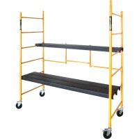 Metaltech Maxi Folding Steel Scaffold — 850-Lb. Capacity, Model# I-IRC