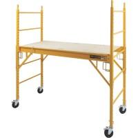 Metaltech Multipurpose 6ft. Baker-Style Scaffold — 1,000-Lb. Capacity, Steel, Model# I-CISC