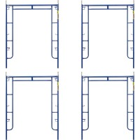 Metaltech Saferstack 6ft. x 5ft. Arch Frame — 4-Pk., Model# M-MA7660PSK4