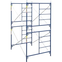 Metaltech Safertstack Double Lift Scaffold — Set of 2, 5ft. x 10ft. x 10ft., Model# M-MFC51010