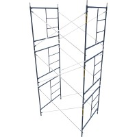 Metaltech Safetstack 5ft. x 5ft. x 7ft. Mason Frame — Set of 3, Model# M-MFS606084AK3